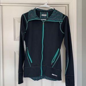 Marmot zip up light weight sweatshirt